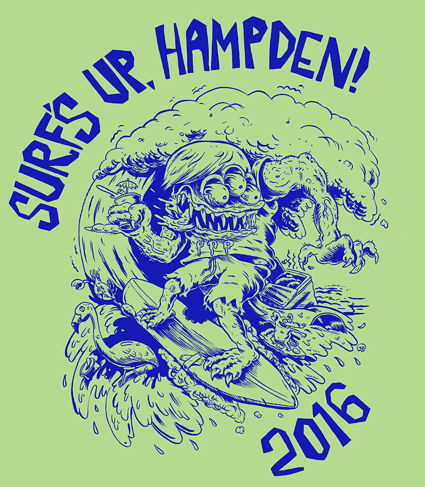 Surf's Up, Hampden! T-Shirt