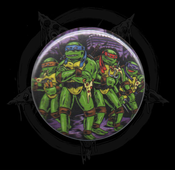 Cowabunga Dudes! Button
