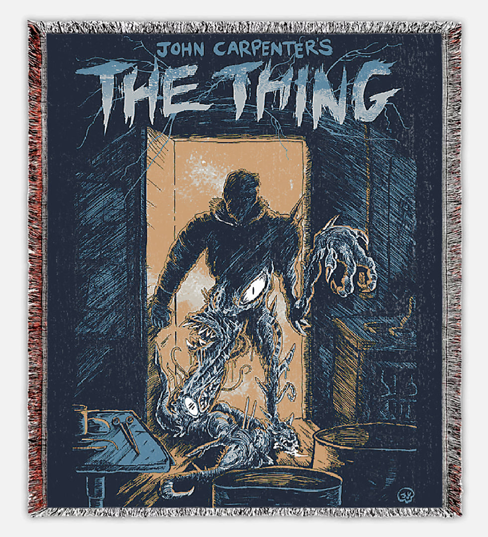The Thing Woven Blanket