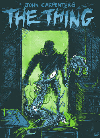 John Carpenter's The Thing Poster 2nd Edition