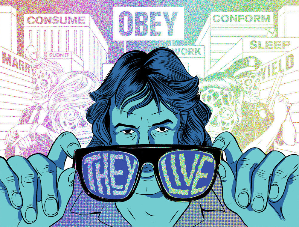 They Live! TV Static Edition of 40