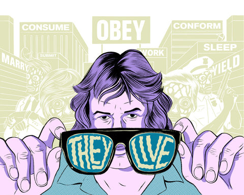 They Live! Glow-in-the-Dark Poster