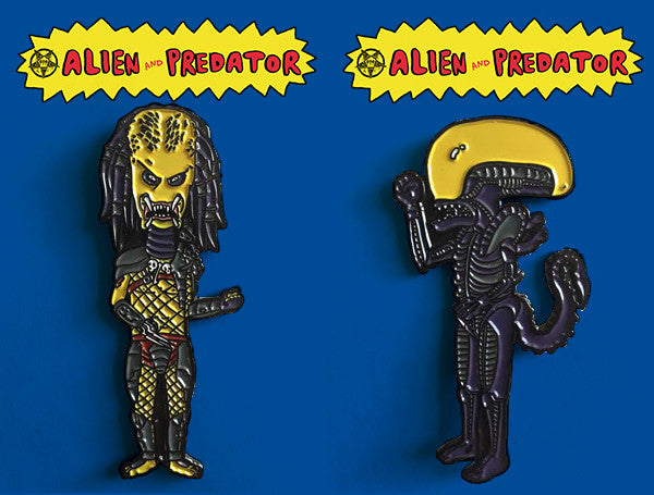 Beavalien and Butt-Pred Enamel Pins