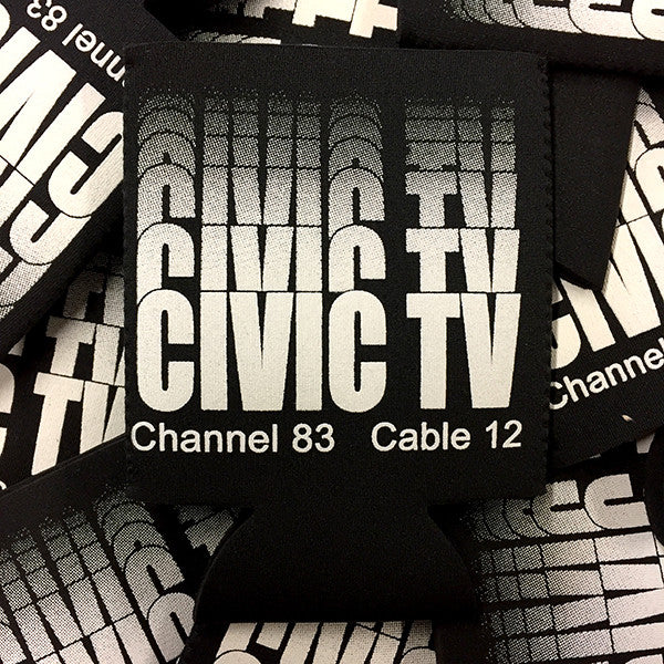 Civic TV Koozie