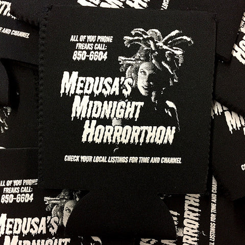 Medusa's Midnight Horrorthon Koozie