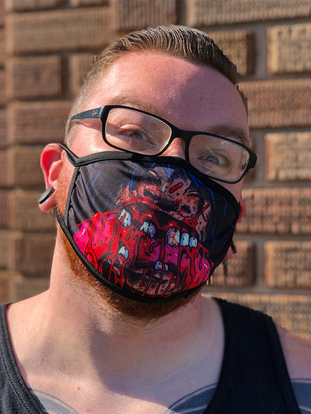 Cannibal Gut Muncher Face Mask