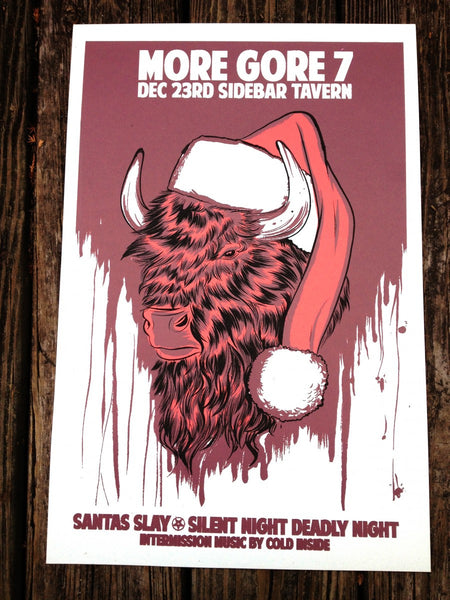 Santa's Slay - Silent Night Deadly Night Screen Printed Poster
