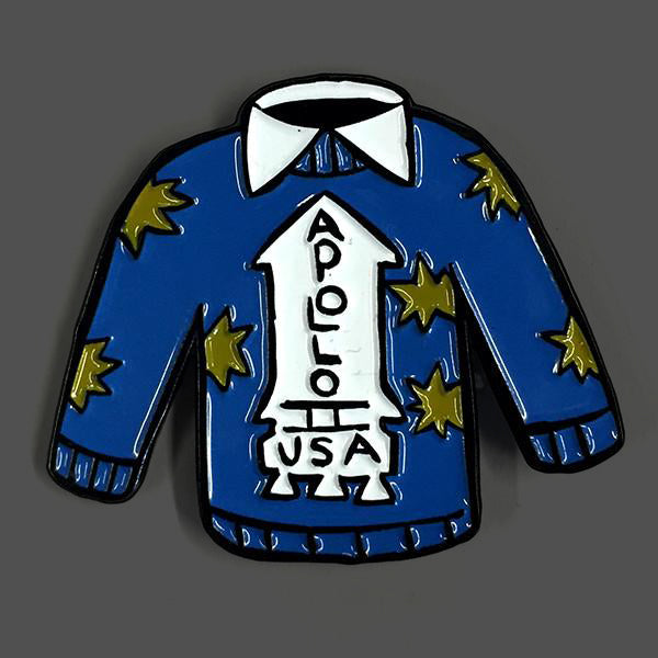 Apollo 11 Sweater Enamel Pin
