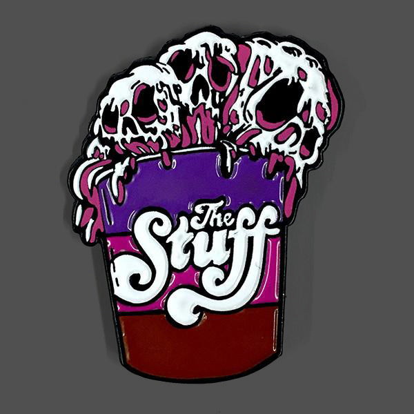 The Stuff Enamel Pin