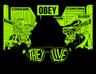 They Live! Glow In The Dark Poster