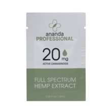 Full Spectrum CBD Oil  (20 mg/ml) 1.5 ml Sample Packet