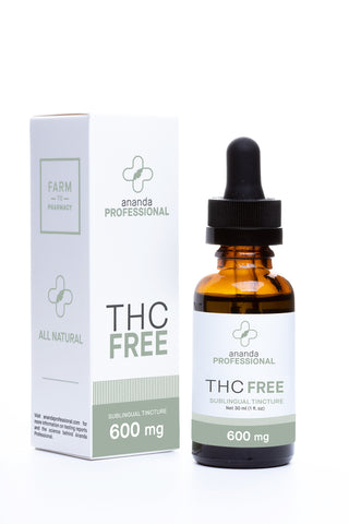 Full Spectrum THC FREE CBD Oil 600 mg (20 mg/ml) 30 ml