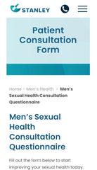 A Men's Health Consultation (45 minutes)