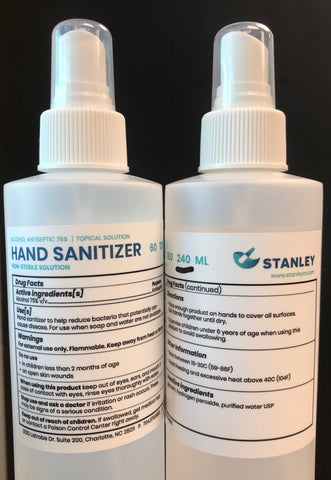 Hand Sanitizer (8 oz / 240 ml) - Compounded