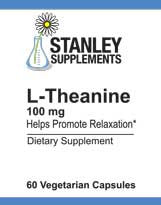 L-Theanine 100 mg (60 capsules)
