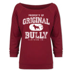 Property of Original Bully Ladies 3/4 Sleeve Tee