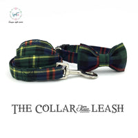 The Green Gentleman  Dog Collar and Lead