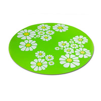 Pet Feeding Mat Place mat Cat Dog Large Floral Anti Slip Water Pad Silicone Water Dispenser Fountain Feeder Accessories