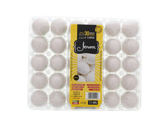Jenan White Eggs 30pcs