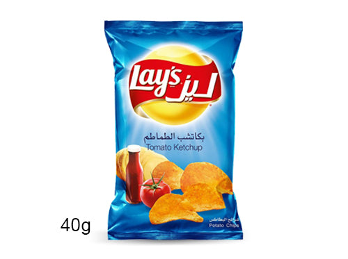 Lays Ketchup Potato Chips