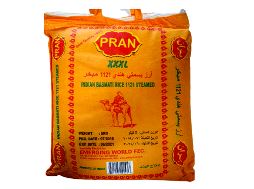 Pran Basmati Rice Steamed