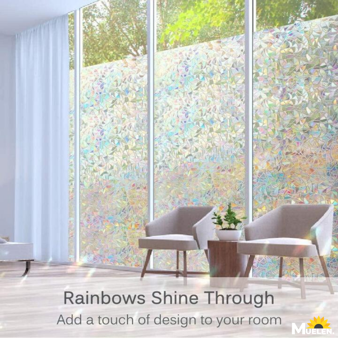Rainbow Effect Window Film