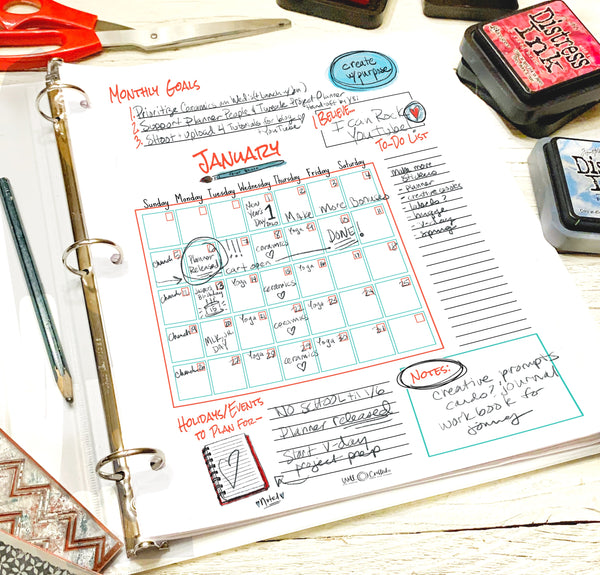 Create with Purpose Deluxe Planner Combo (3 in 1)