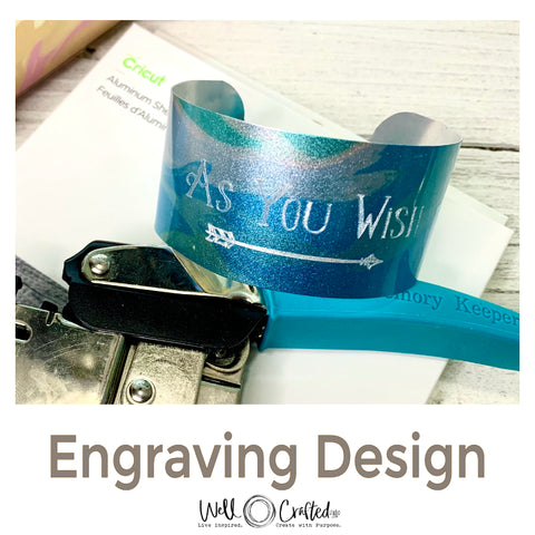 As You Wish Engraving Design