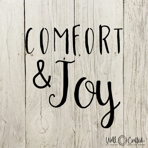 Comfort and Joy Digital Design