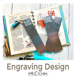 Creativity Takes Courage Engraving Design