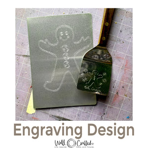 Gingerbread Boy 2020 Engraving Design