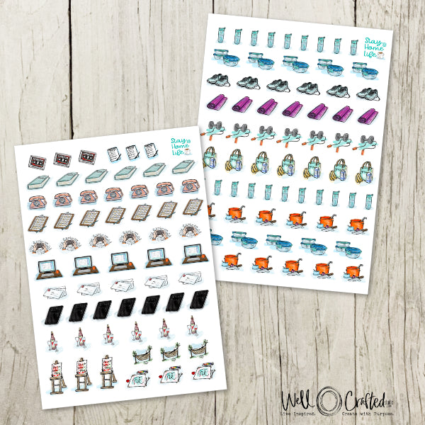 Planner Stickers - Healthy LIfe