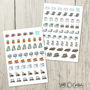 Planner Stickers - Household Chores