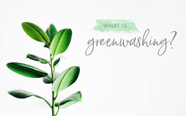 Say no to Greenwashing