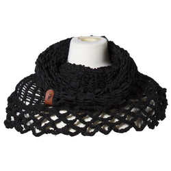 Ketsali Multifunction Scarf Black