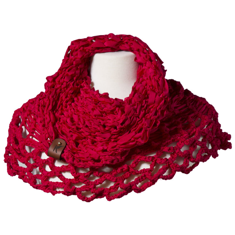 Ketsali Multifunction Scarf Red