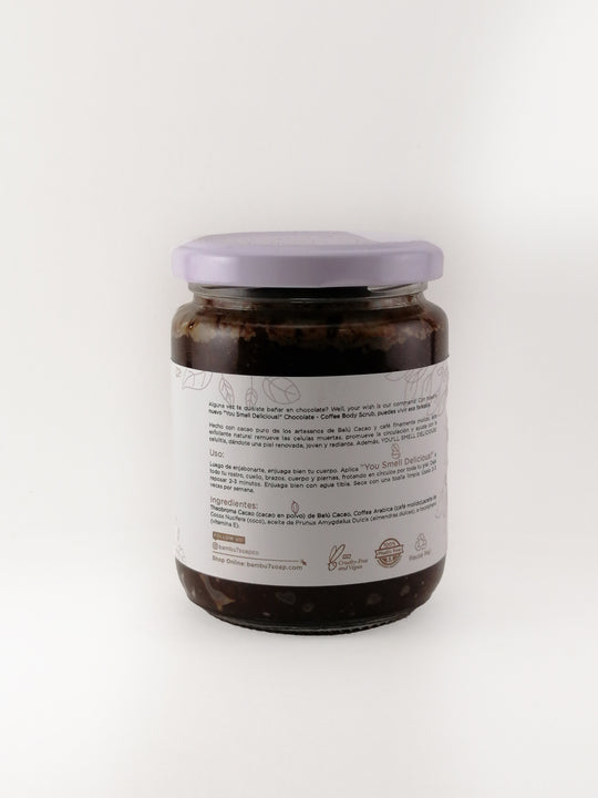You Smell Delicious! Chocolate & Coffee Body Scrub