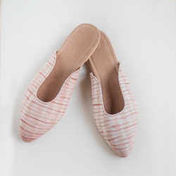 Natural Dyed Colored Mules