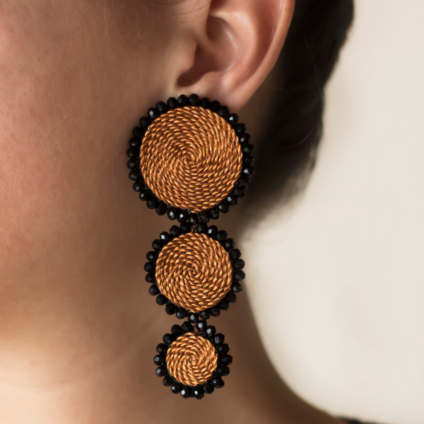 Handmade Circles Earrings