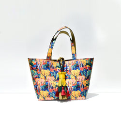 Reversible Elephant Print Bag