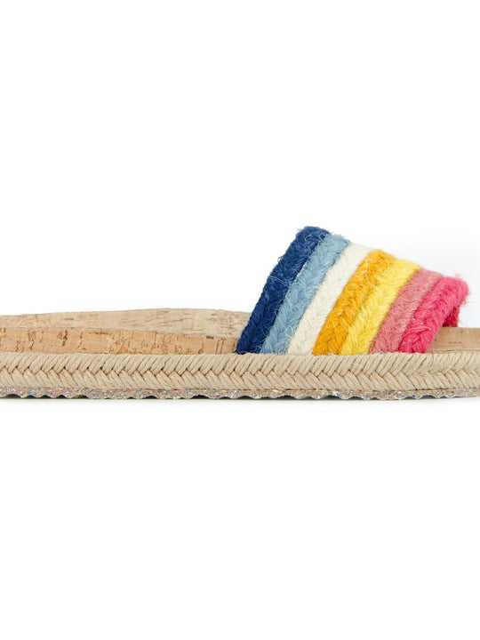 Multicolor Jute Mildness Sandals