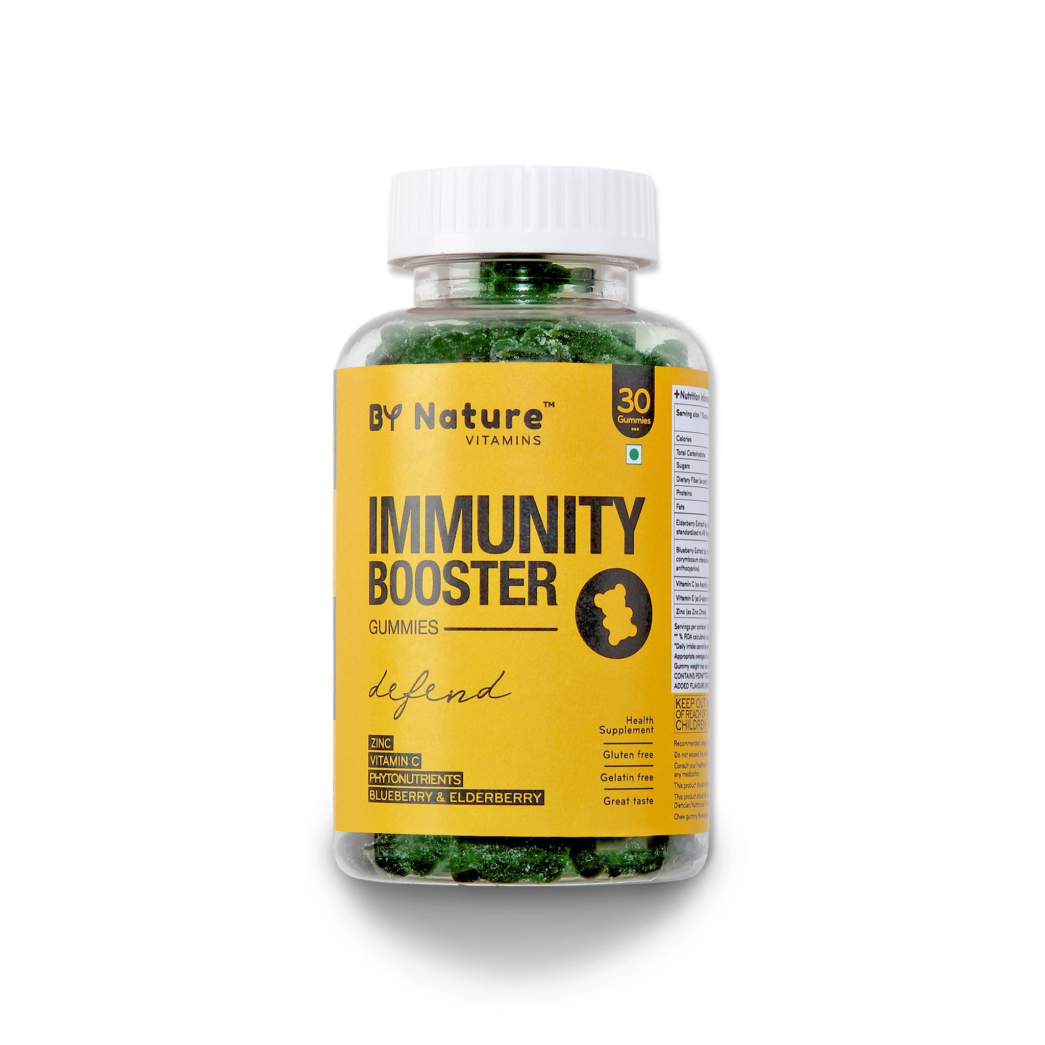 By Nature Immunity Booster Vitamin Gummies - 30 gummies (1 month pack)