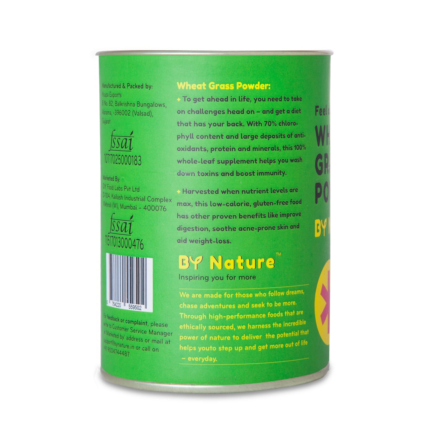 By Nature Wheatgrass Powder, 100 gm