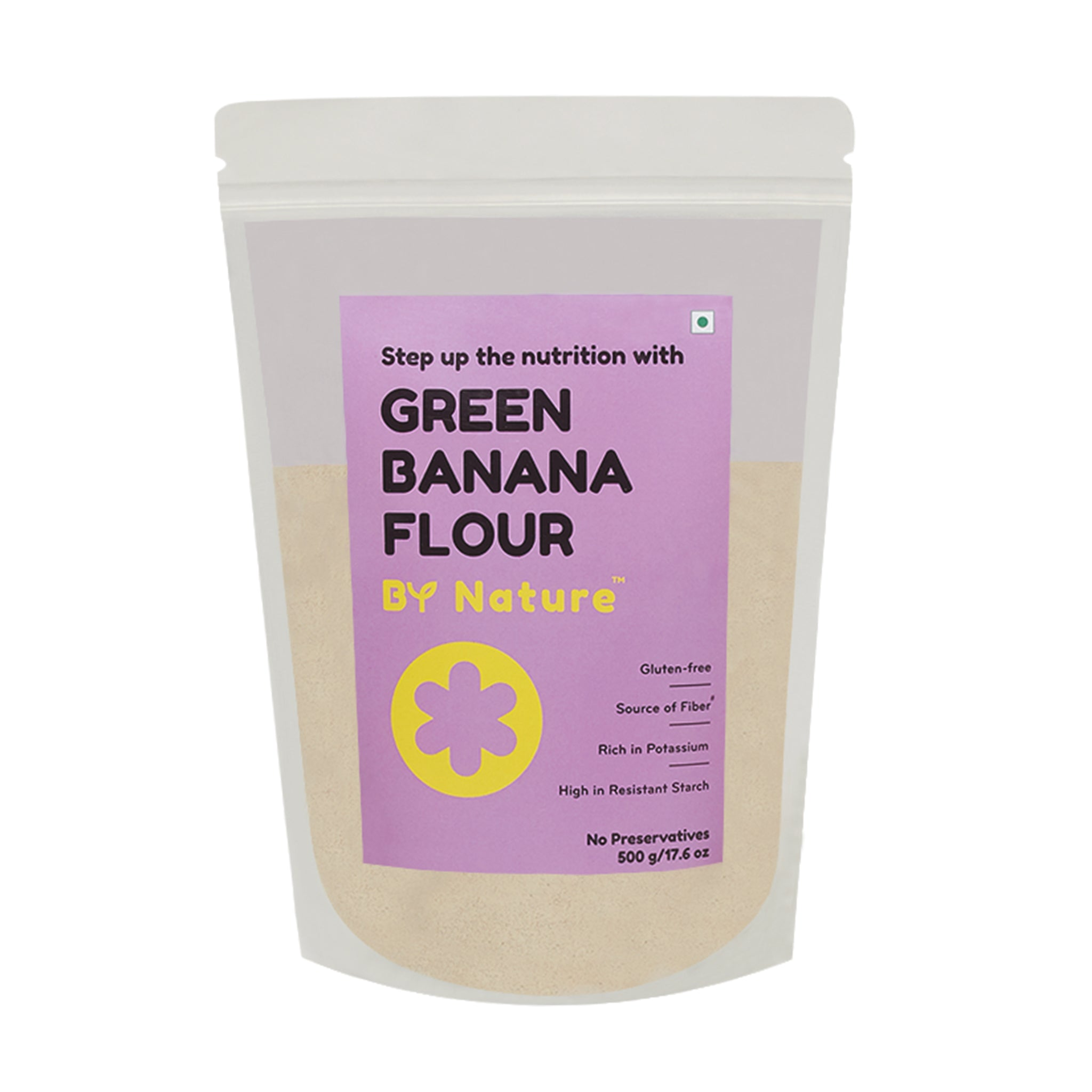 By Nature Green Banana Flour 500 g