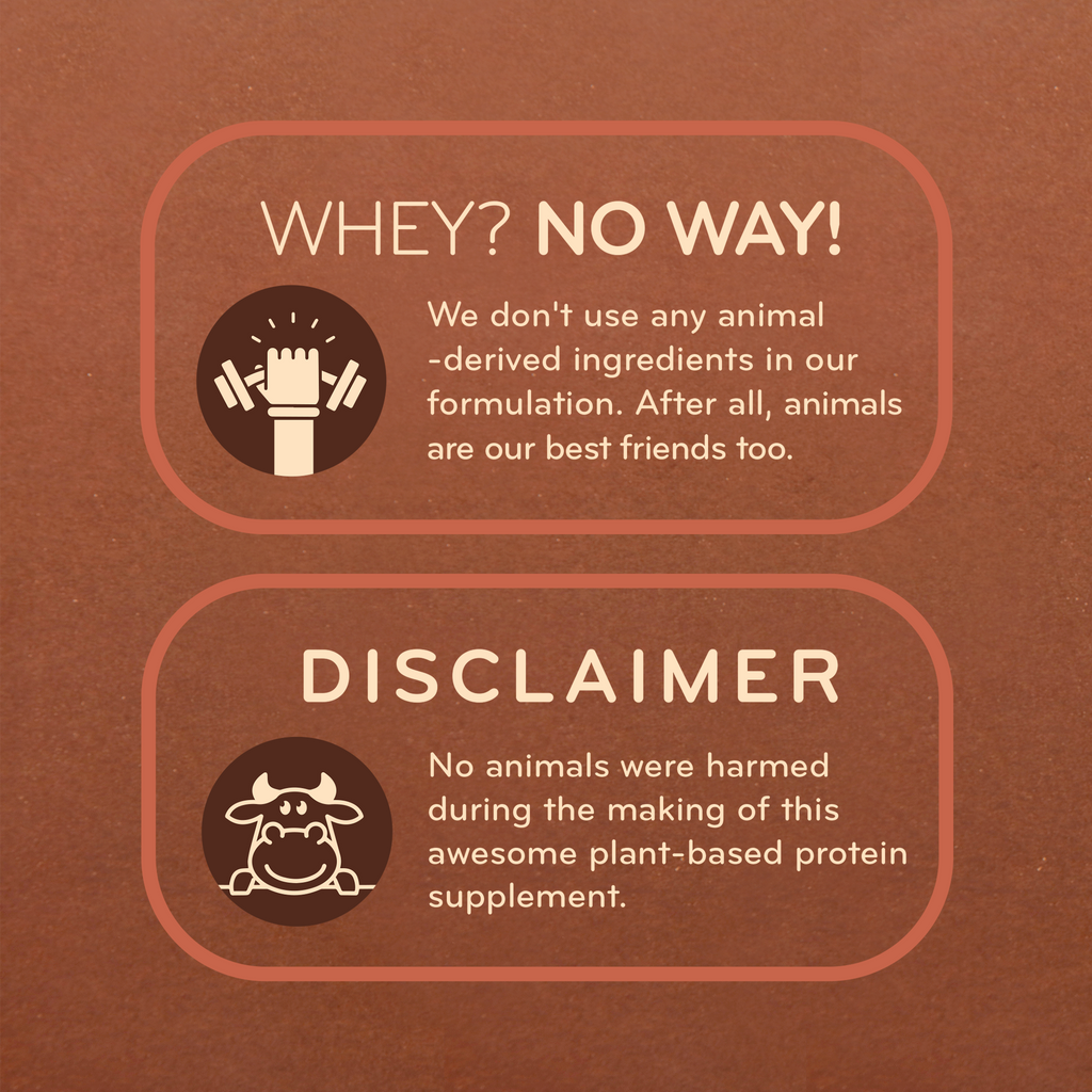 By Nature Plant Protein (Rich Chocolate) - Disclaimer