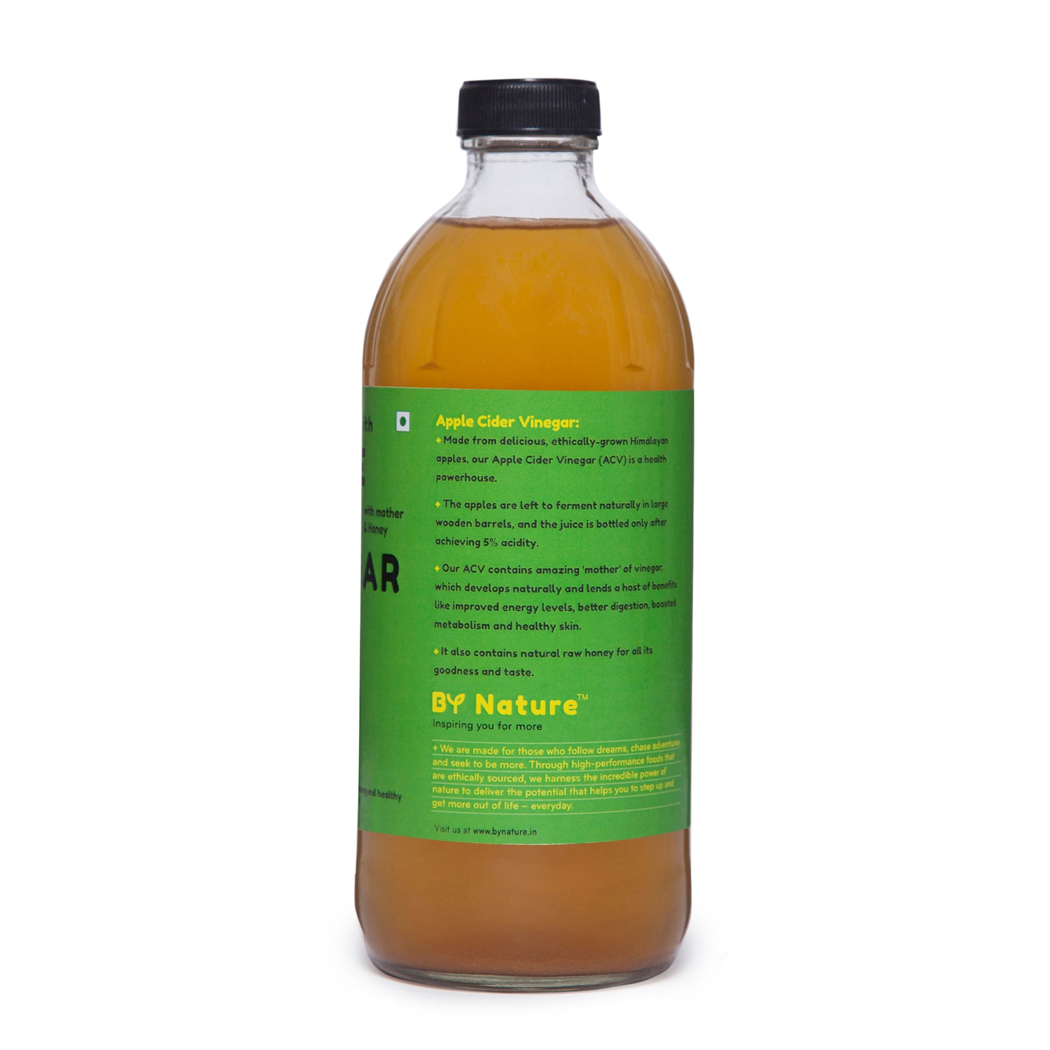 By Nature Apple Cider Vinegar with Honey, 500 ml