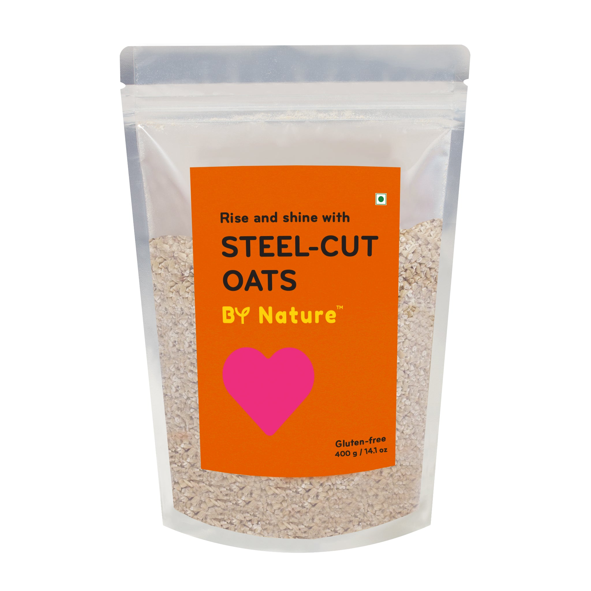 By Nature Steel Cut Oats 400 g