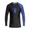 MOSKOVA RANK RASHGUARD BLACK/BLUE(ラッシュガード)