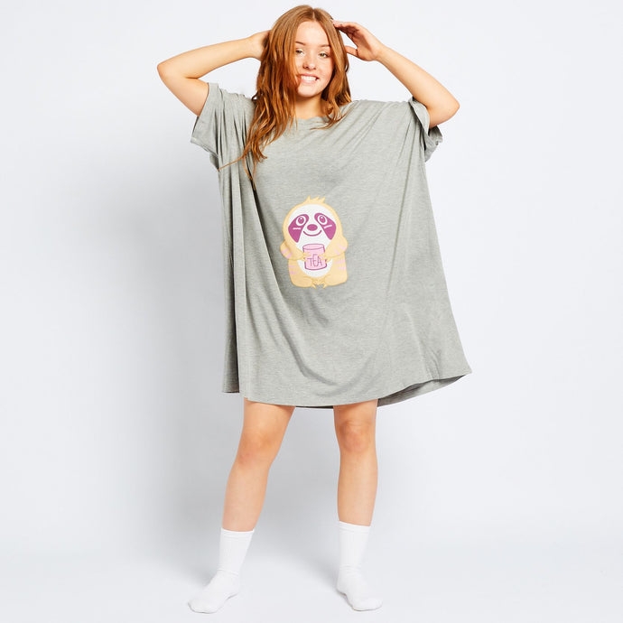 Sloth Oodie Sleep Tee (SOLD OUT)