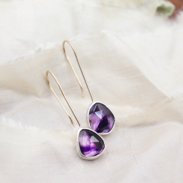 Rainbow Gemstone Earrings